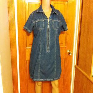 c.b. Casual Dresses - c.b. Casual Denim Dress